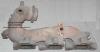 Коллектор выпускной правый 04663762AB Chrysler Intrepid 2.7
